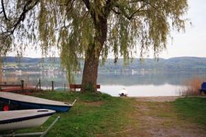 Ufer Hemmenhofen zur Schweiz